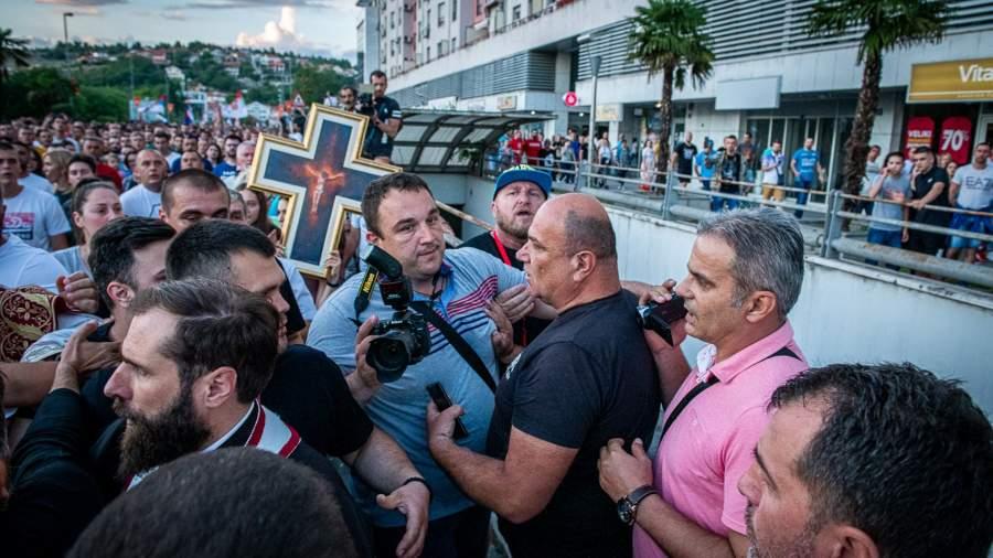 Протестные молитвенные шествия в Черногории