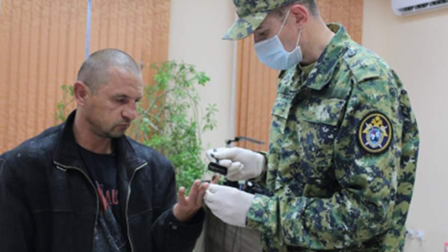 Задержаный 39-летний житель поселка Ленино