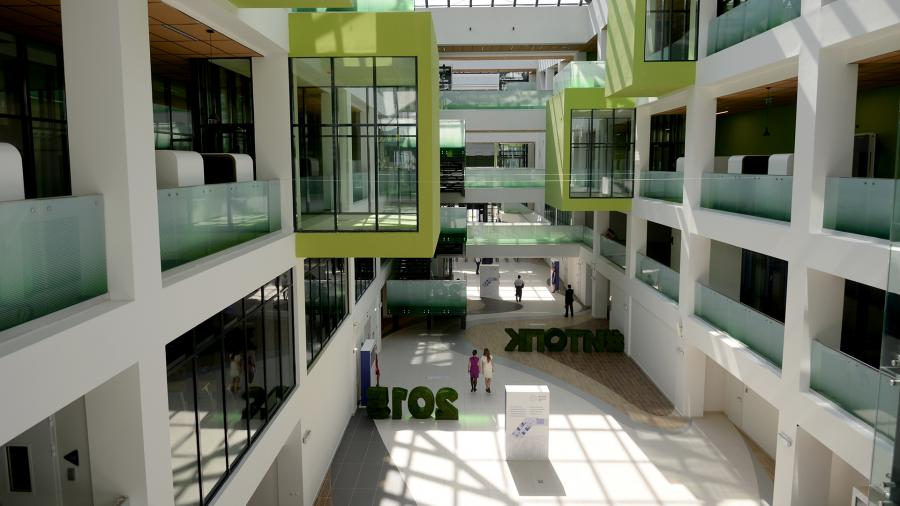 Учебный корпус университета в Иннополисе