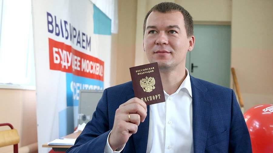 Депутатфракции ЛДПР Михаил Дегтярев