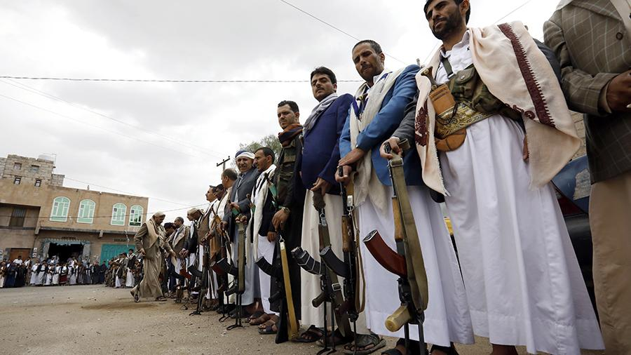 Хуситы, мобилизованные на борьбу с правительственными войсками