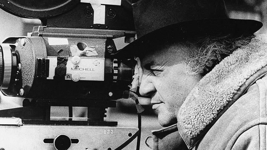 Федерико Феллини за работой. 1967 год