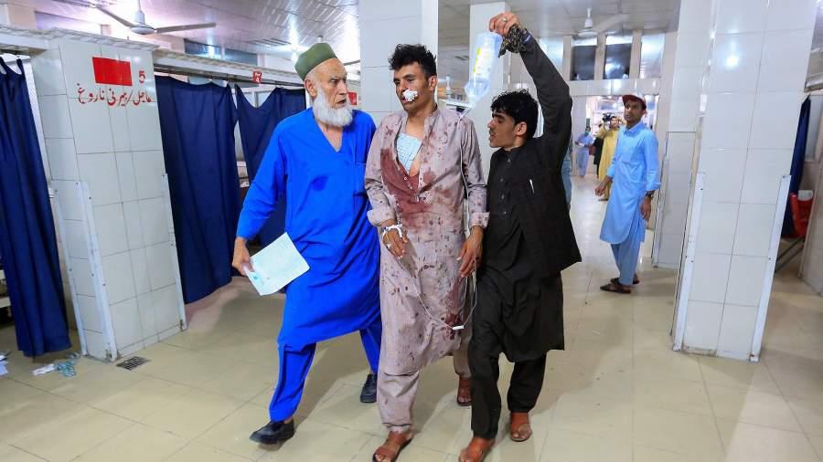 Раненный в результате атаки на тюрьму в Джелалабаде