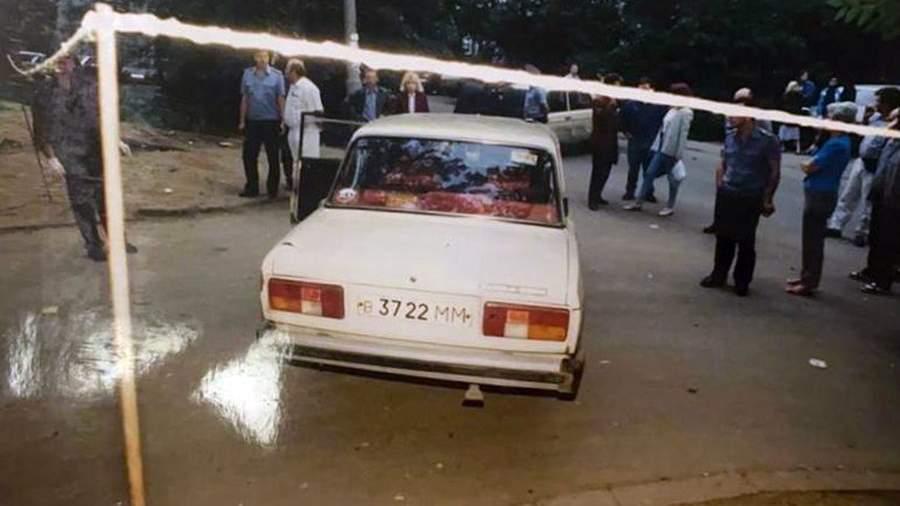 Место убийства двух милиционеров в 1995 году