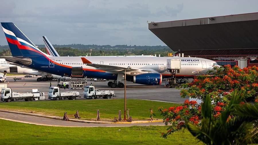 Самолеты в аэропорту Гаваны