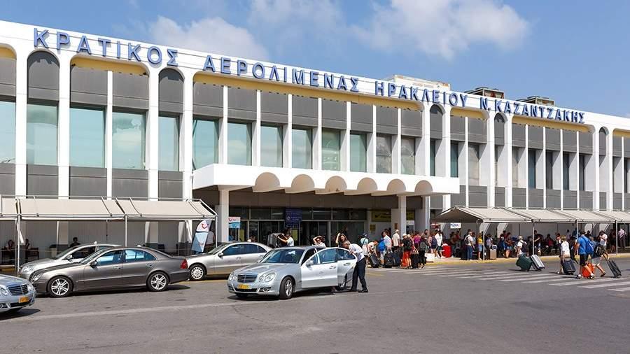 Терминал аэропорта Ираклиона