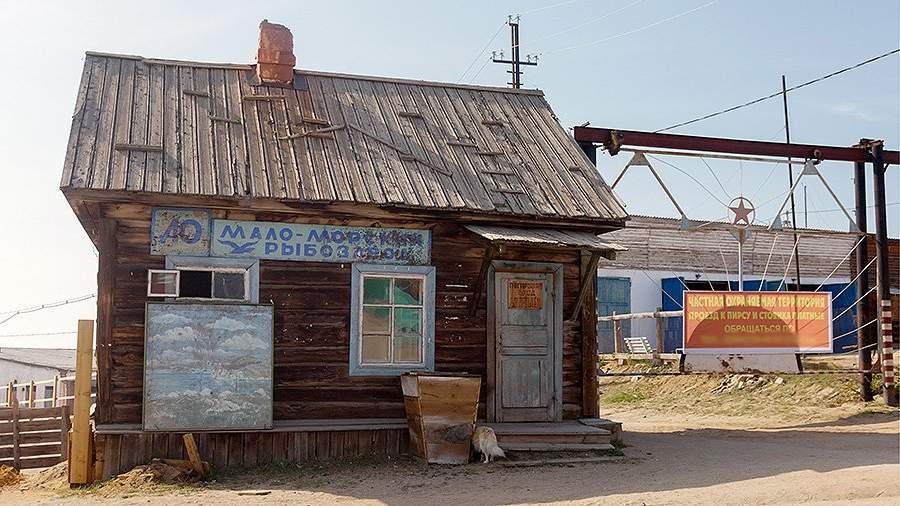 Здание заброшенного Маломорского рыбного завода