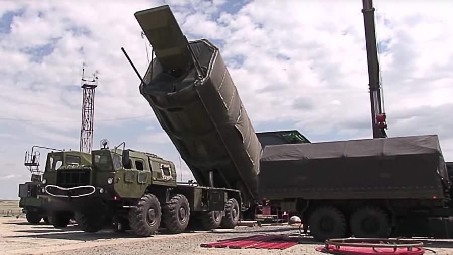 Гиперзвуковой ракетный комплекс «Авангард» во время испытаний