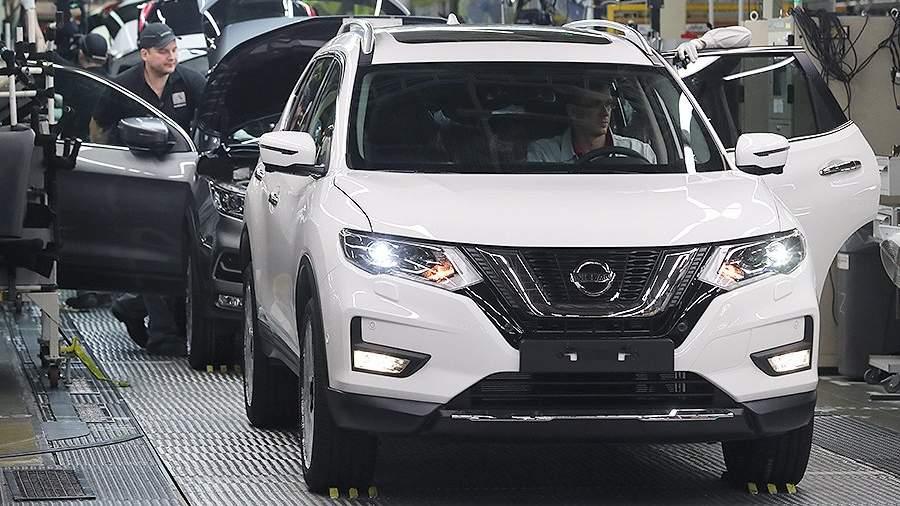 Производство автомобиля Nissan Qashqai