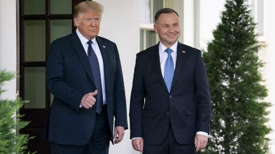 президент Польши Анджей Дуда договорился об АЭС со своим американским коллегой Дональдом Трампом