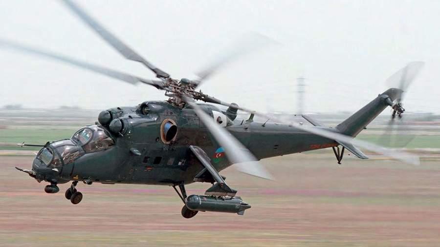 Ударныйвертолет Ми-35М ВВС Азербайджана