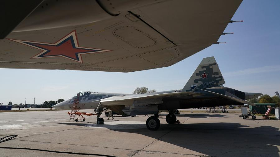 Multifunctional fighter of the fifth generation Su-57