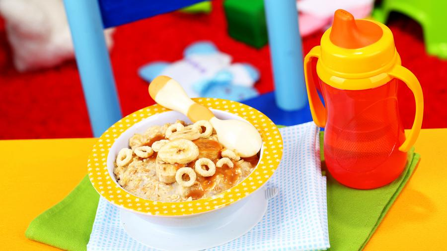 завтрак ребенок