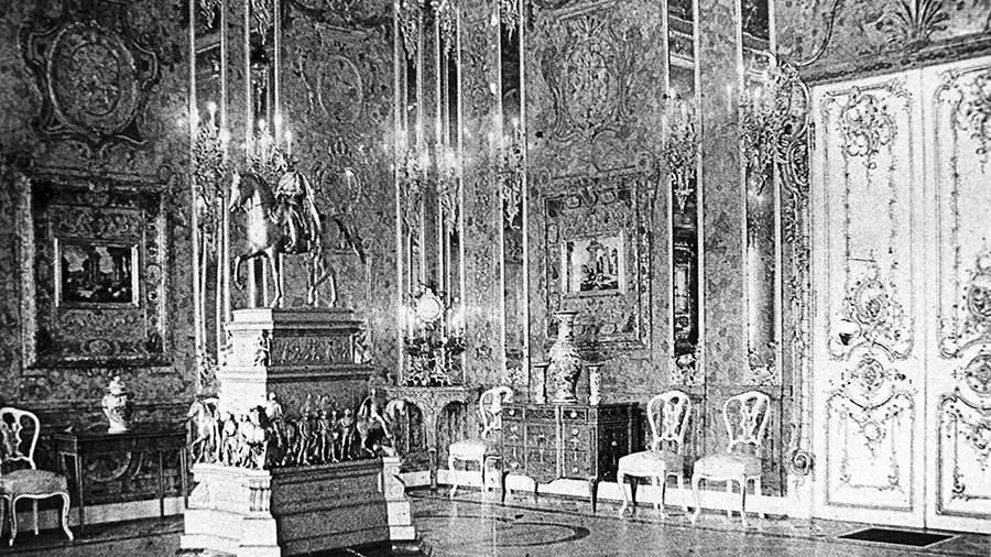 Янтарная комната Екатерининского дворца