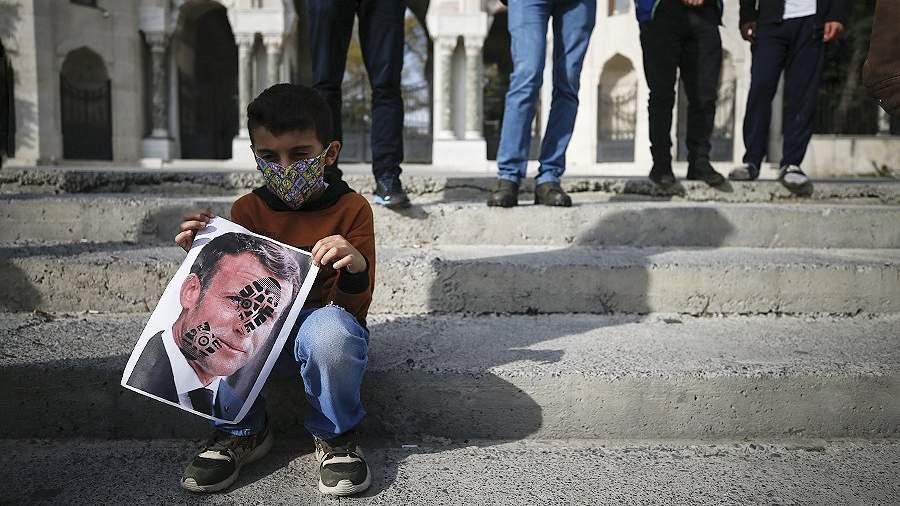 Акции протеста в Стамбуле