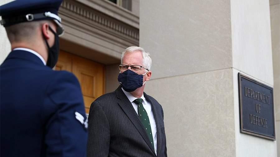 Исполняющий обязанности министра обороны США Кристофер Миллер