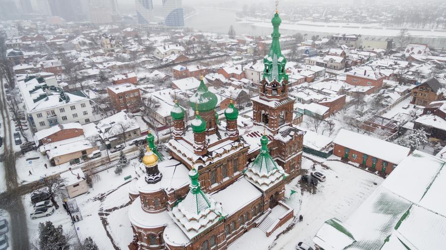 Свято-Троицкий собор в Краснодаре.