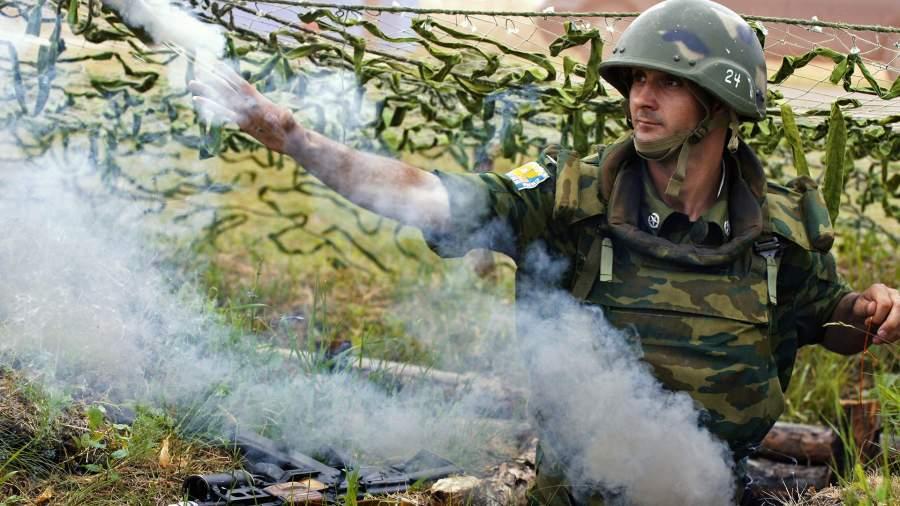 Подготовка личного состава 15-й отдельной мотострелковой бригады Сухопутных войск РФ