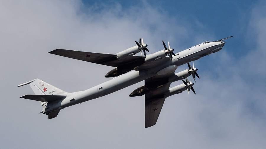 Long-range anti-submarine aircraft Tu-142