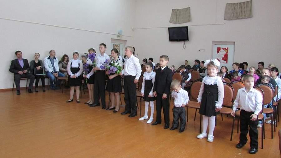 Последний звонок в Мокшанском детском доме-интернате. Фото: internat54.nethouse.ru