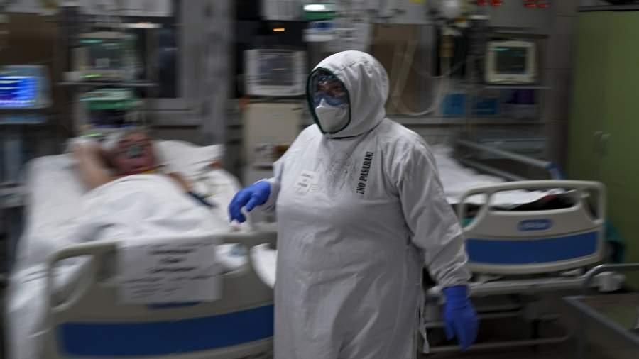 Реанимация ковидного госпиталя