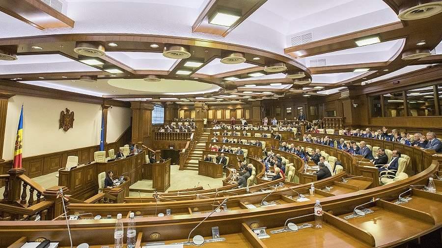 Заседание Правительства Молдовы