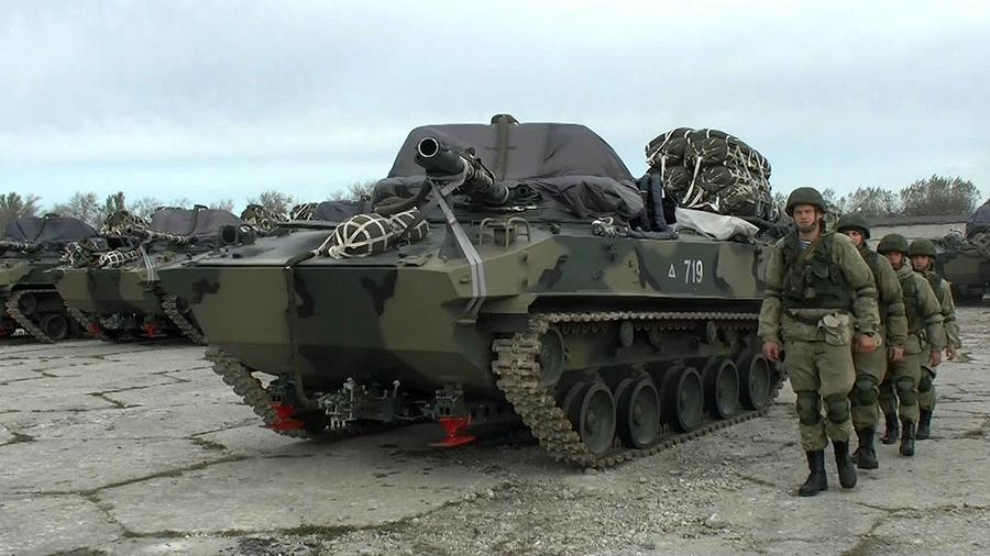 BMD-4M airborne combat vehicles
