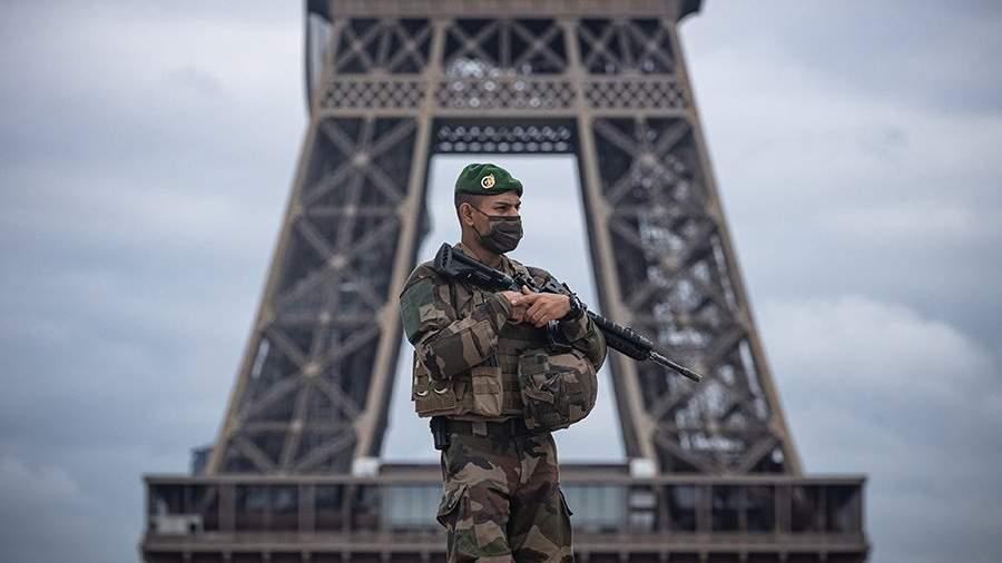 Париж, локдаун