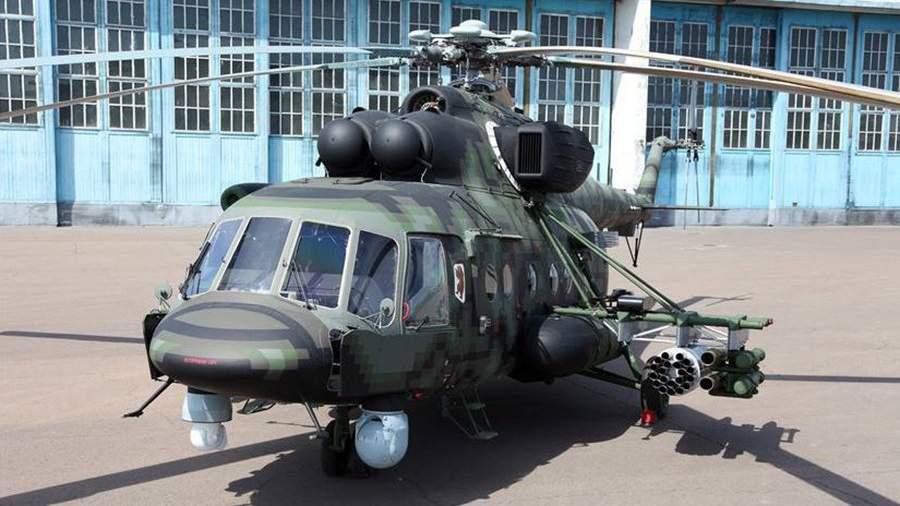 Опытный Ми-8АМТШ-ВН «Сапсан»