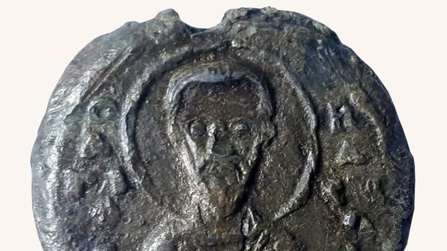 Печатка киевского князя Владимира Мономаха, найденная вбелорусском Гродно на территории Нового замка