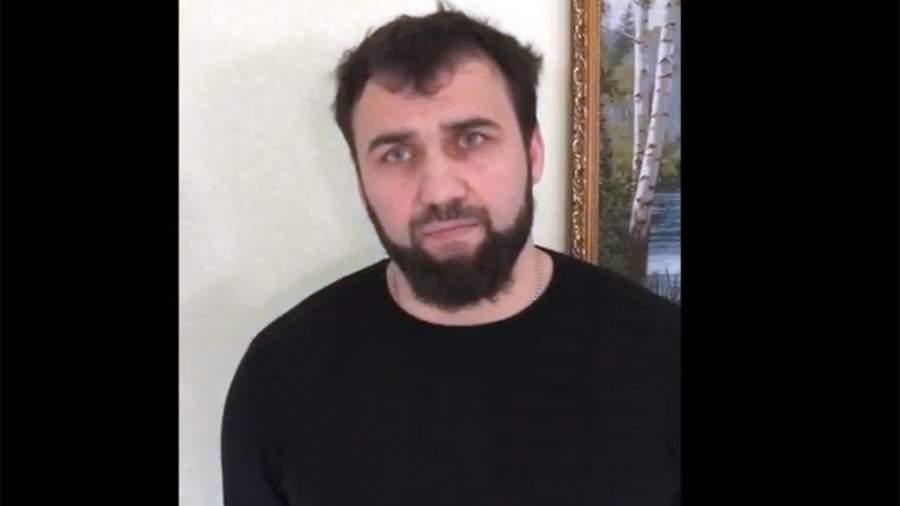 Бай-Али Солтаханов по кличке Бай во время задержания