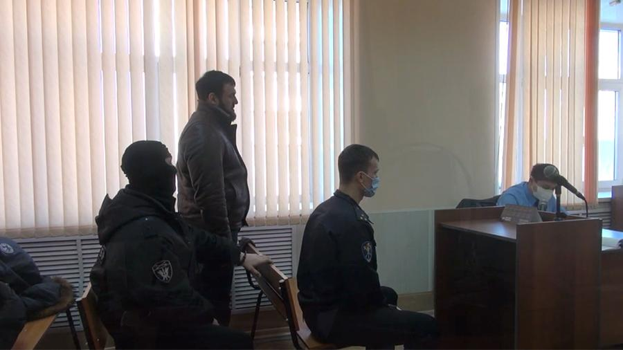 Бай-Али Солтаханов по кличке Бай в зале суда