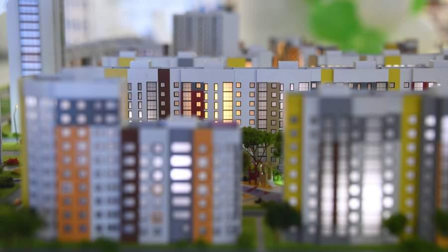 Макет жилого комплекса