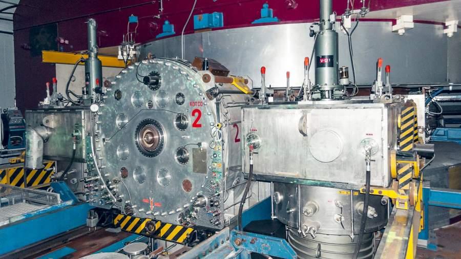 Компоненты ускорителя частиц
