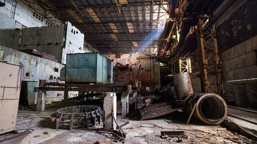 Цех заброшенного завода