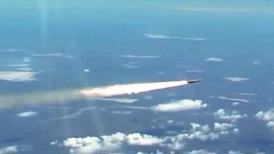 """Запуск гиперзвуковой ракеты """"Кинжал"""""""
