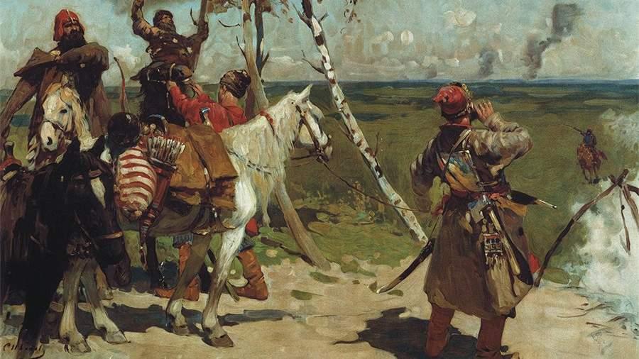 На сторожевой границе Московского государства