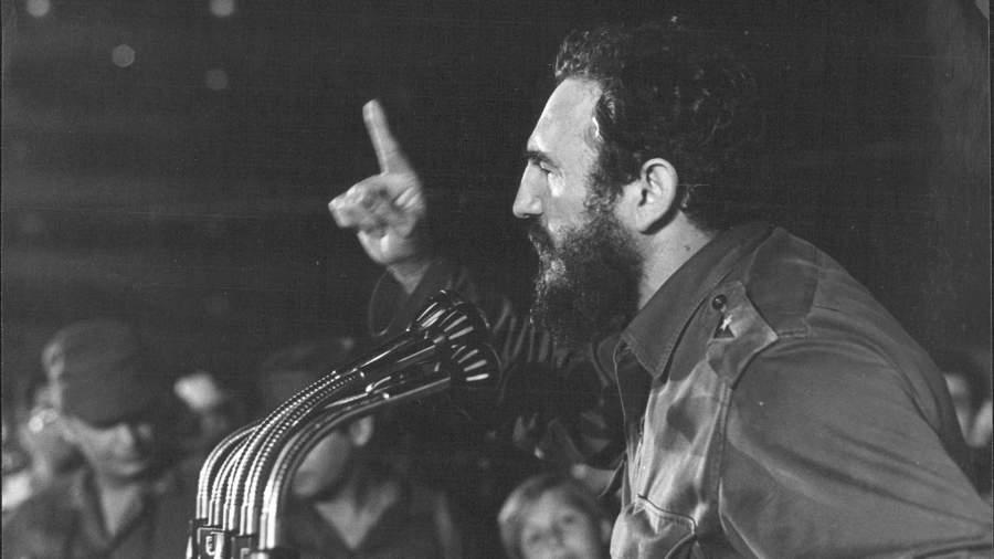Майор Фидель Кастро, премьер-министр кубинского революционного правительства,1958 год