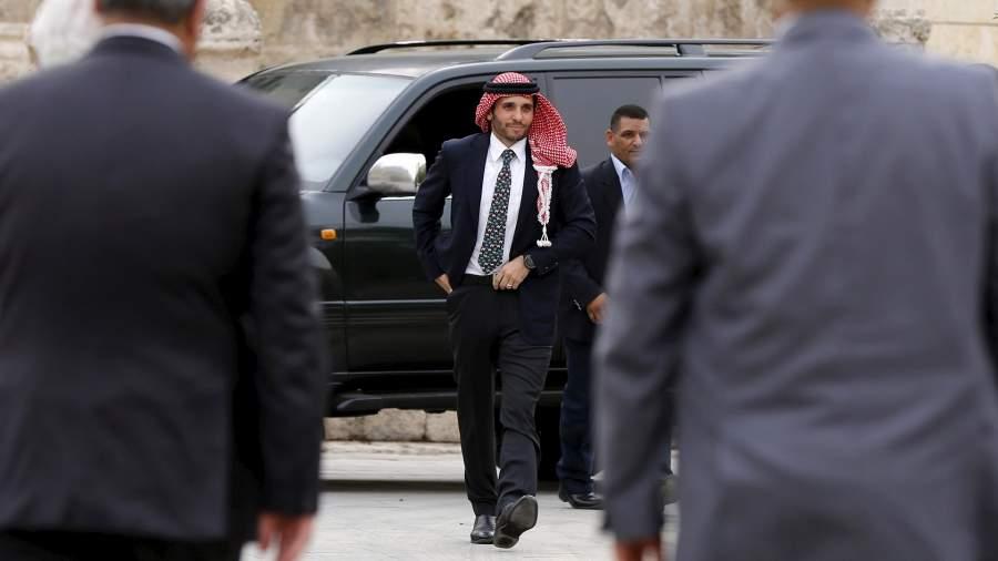 Бывший наследный принц Иордании Хамза бен Хусейн