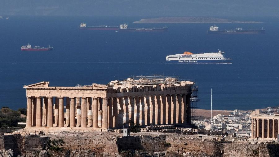 греция пейзаж отдых