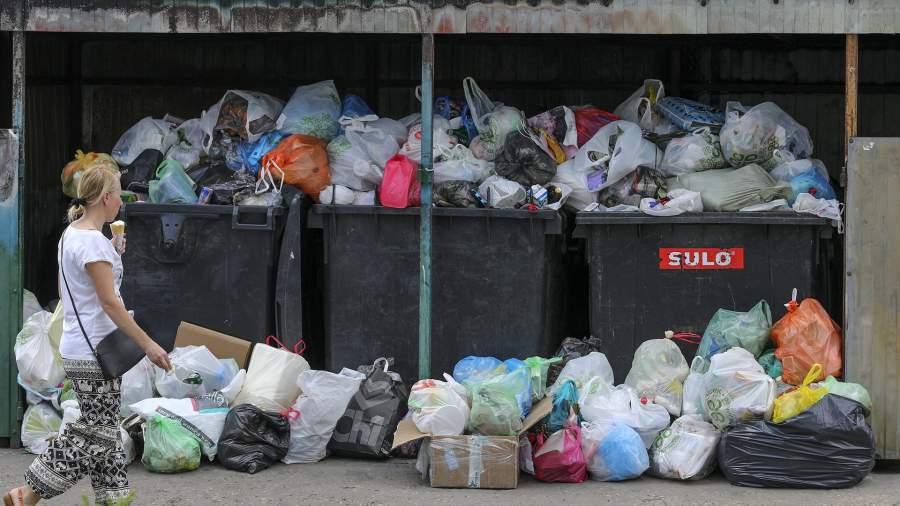 Контейнеры для нераздельногосбора мусора