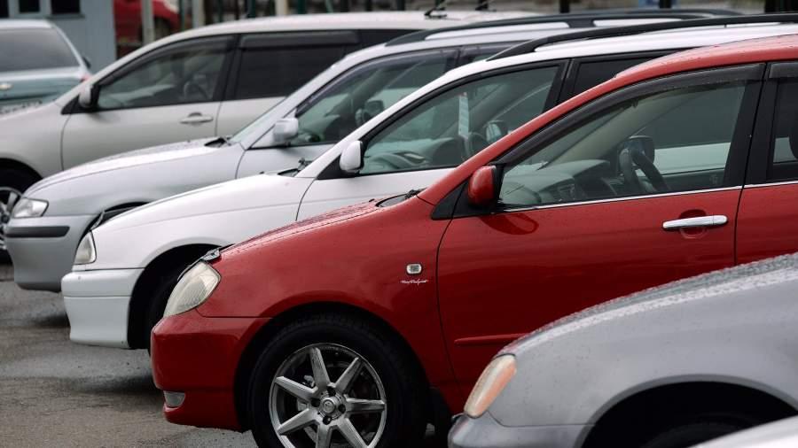 Подержанные автомобили, выставленные на продажу