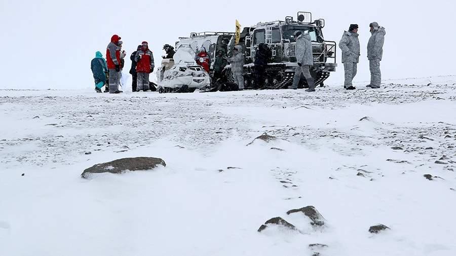 Техника в Арктике