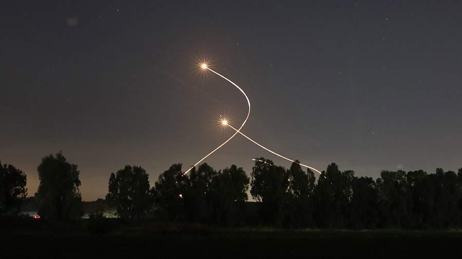следы от ракет
