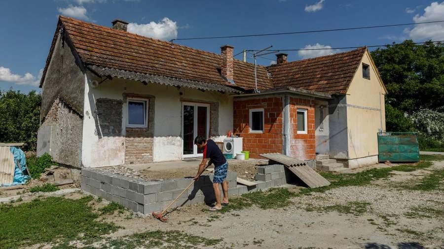 Дом в хорватском городе Леград