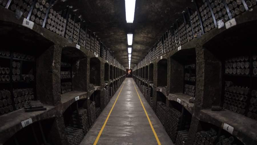 Энотека винодельческого предприятия «Массандра»в Крыму