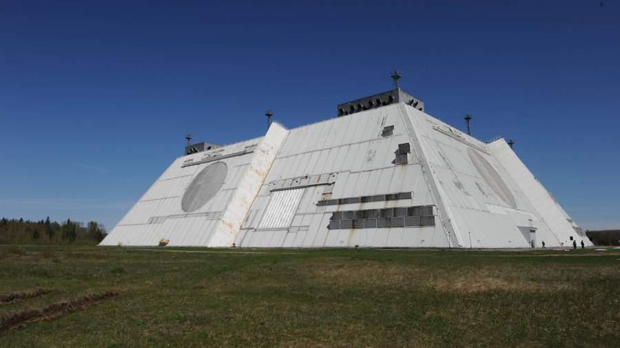 Радиолокационная станция системы противоракетной обороны Дон-2Н
