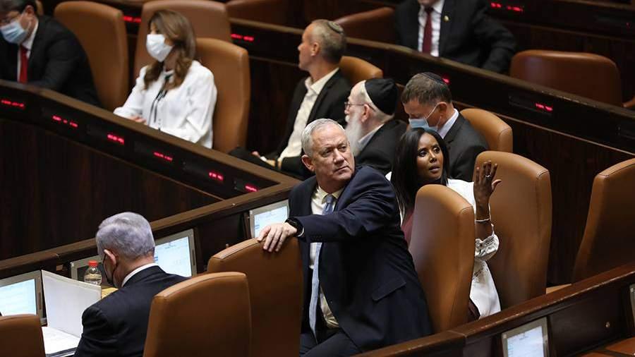 Пленарное заседание по утверждению нового кабмина Израиля в Кнессете