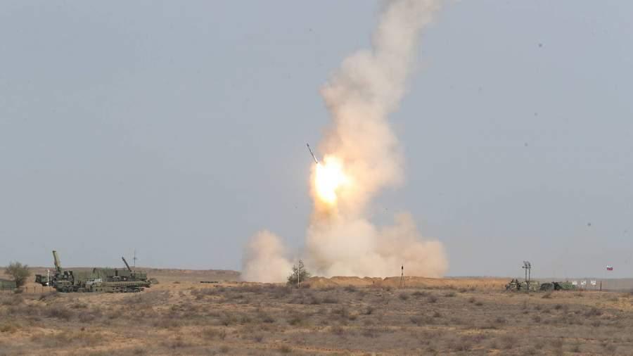 Учебные ракетные пуски С-400