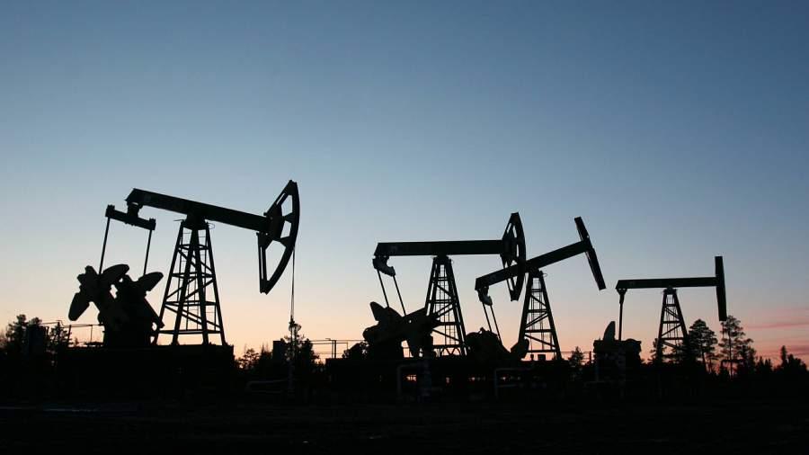 Место добычи нефти
